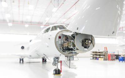 Dassault Service Center at Stuart Jet Center