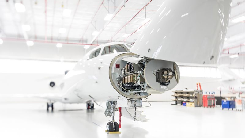 Dassault Service Center at Stuart Jet Center