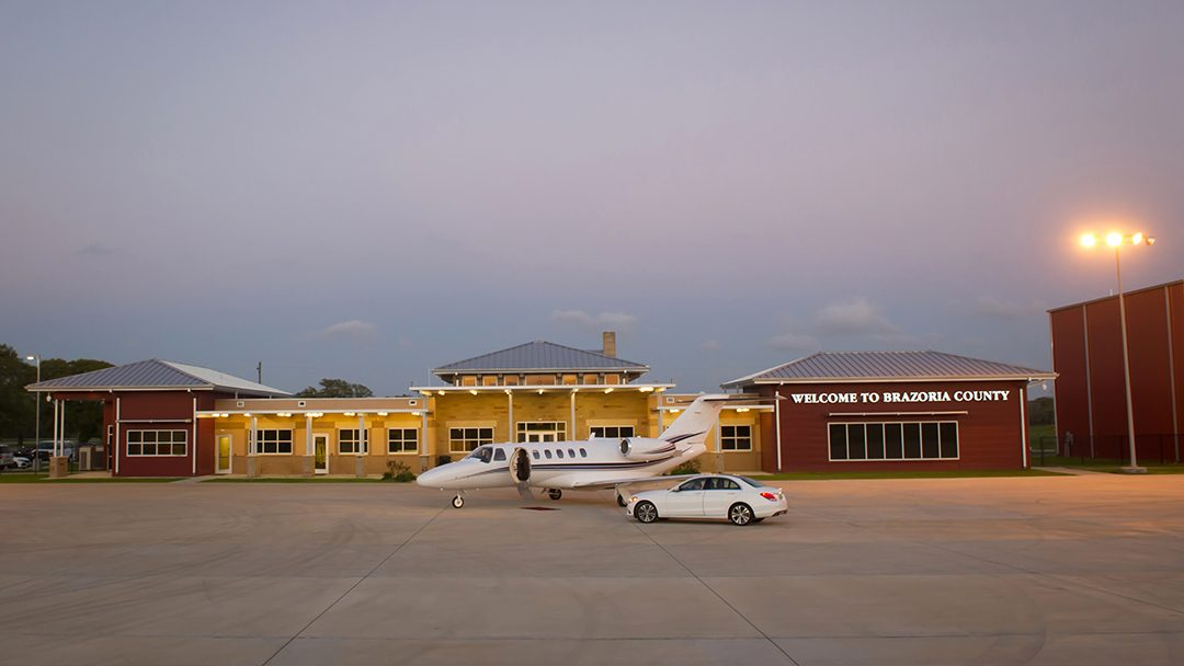 Texas Gulf Coast Regional Airport Now Branded