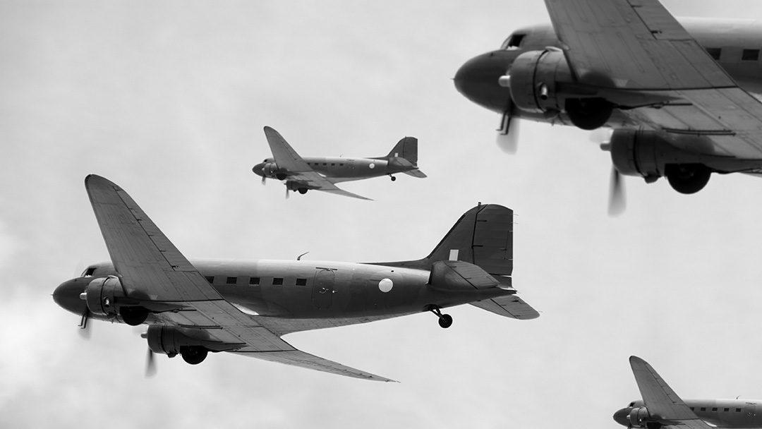 C-47s Stop in Maine