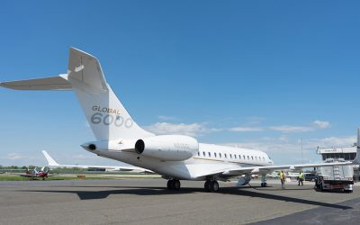 EBACE OPERATORS CROSS ATLANTIC ON AVFUEL'S SAJF