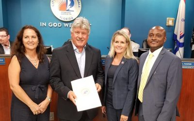 Banyan Air Service Recognized by the City of Fort Lauderdale