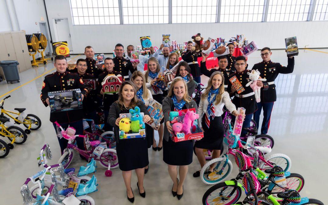 American Aero Donates Toys for Tots