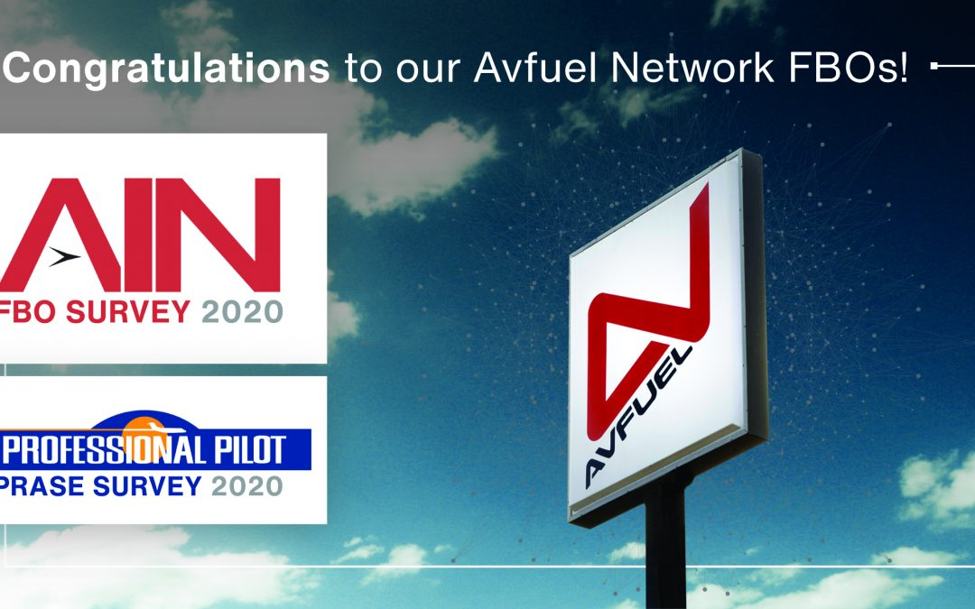 AVFUEL NETWORK HONORED IN SURVEYS