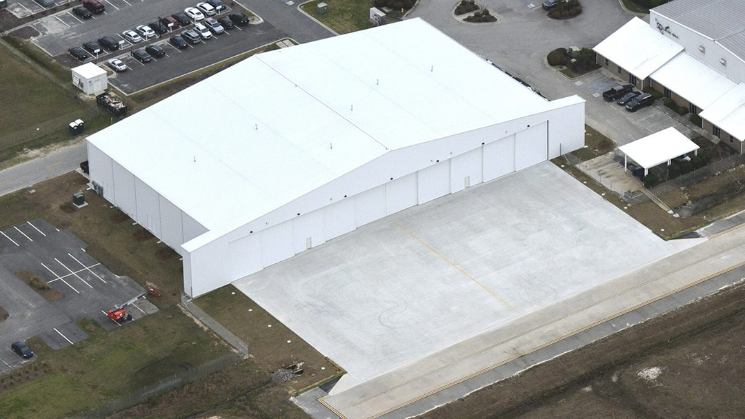 New Sheltair SAV Hangar