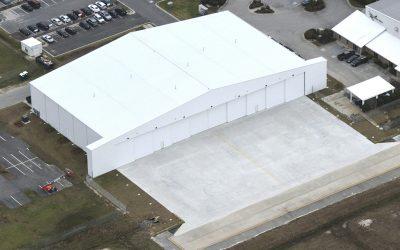 New Sheltair SAV Hangar
