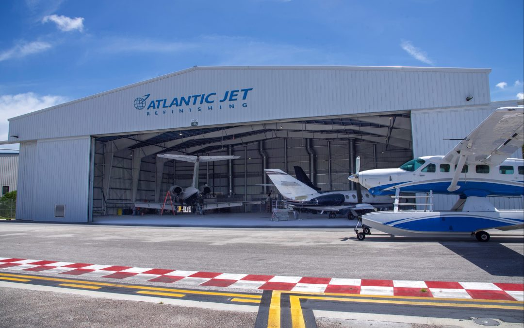 Sheltair announces new FXE paint facility