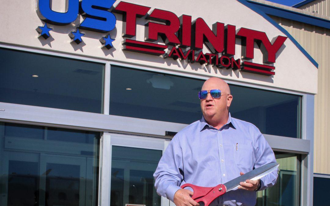 US Trinity Aviation Cuts Ribbon on Facility